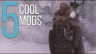 5 Cool Mods - Episode 13 - Skyrim: Special Edition Mods (PC/Xbox One)