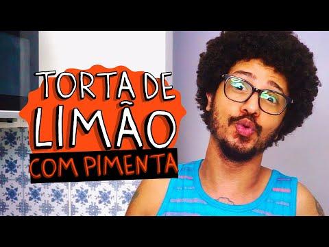 COMO FAZER TORTA DE LIMÃO?? - COZINHA COM PIMENTA