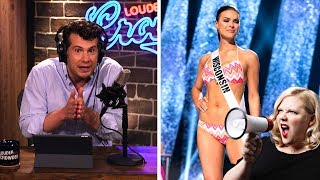 FEMINISTS RUIN MISS AMERICA: Bye Bye Swimsuits! | Louder With Crowder