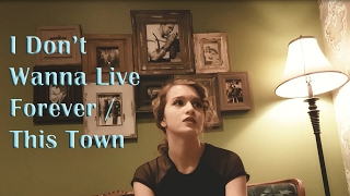 I Don't Wanna Live Forever / This Town - Taylor Swift, Zayn, Niall Horan (Jordyn Pollard cover)