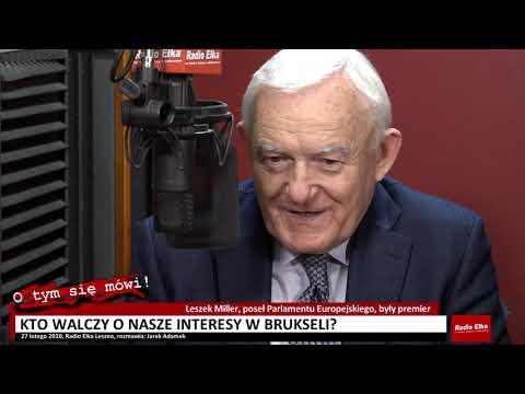 Wideo1: Z europosłem Leszkiem Millerem o tym, kto dba o nasze sprawy w Brukseli i o prywatyzacji Akwawitu