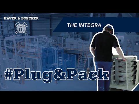 Haver Integra Valve Bagging Machine