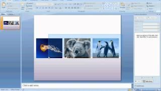 PowerPoint Lesson for Computer Tech. Class Part 1