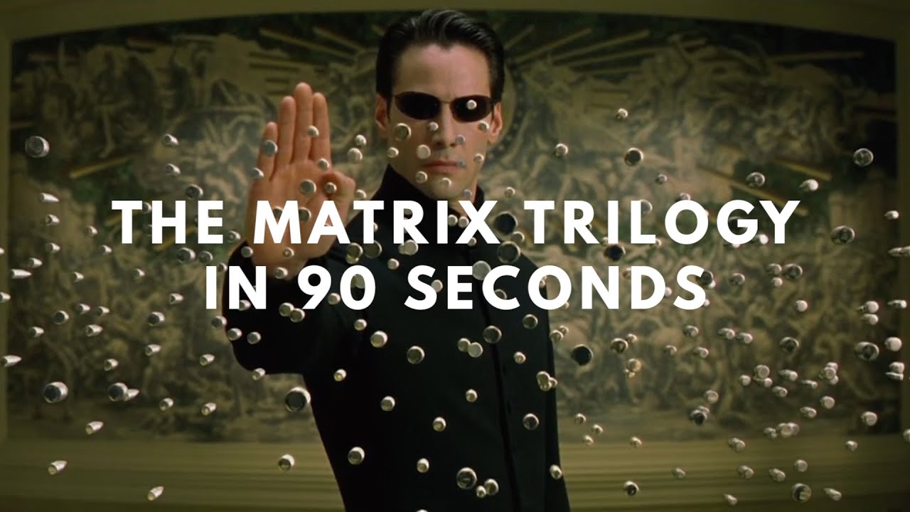 90 Seconds To Show All Three Matrix Films? Let's Give It A Shot