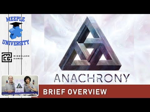 Anachrony Board Game – What to Expect, Brief Overview