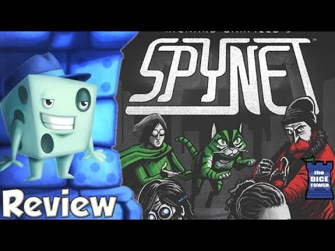 SpyNet Review - with Tom Vasel
