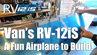 RV Aircraft Video - RV12iS! A Fun & Easy Airplane to Build