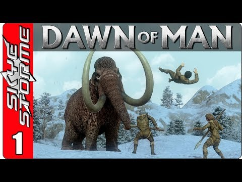 Dawn of Man Gameplay ► PREHISTORIC SURVIVAL! ◀ New City Building Strategy Game 2018 2019