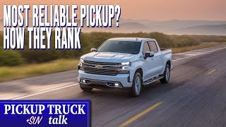 Who Builds The Best? 2019 Most Reliable Full-Size Pickup Trucks