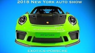 New YouTube Video. 2018 NY auto show Exotics