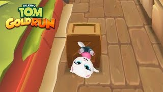 SUPER ANGELA - Talking Angela Runinng in Talking Tom Gold Run Android Gameplay