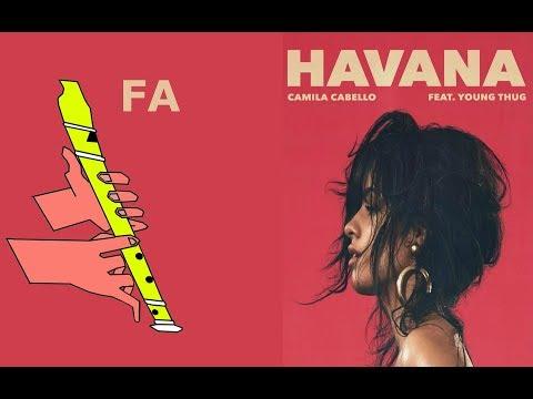 , title : 'HAVANA / RECORDER / CAMILA CABELLO / FLAUTA DULCE FÁCIL / TUTORIAL CON ANIMACIÓN.'