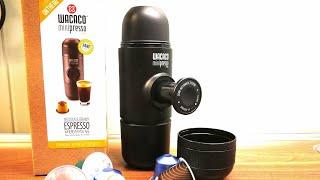 Wacaco MiniPresso NS Reiseespresso Maschine für Nespressokapseln