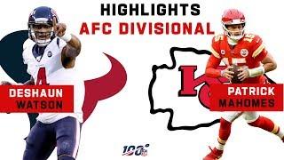 Mahomes & Watson's EPIC QB Duel | NFL 2019 Highlights