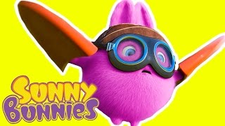 Cartoon ★  Sunny Bunnies - BRAVE PILOT ★ Funny Videos For Kids