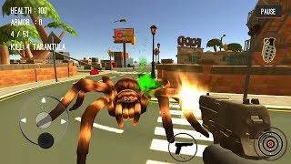 Spider Hunter Amazing City 3D | Android Gameplay HD