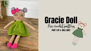 How to Crochet An Easy Baby Doll- No Sewing Required