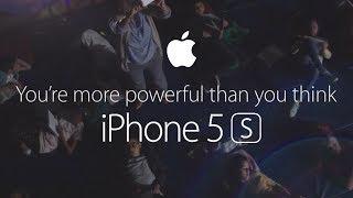 Смотреть онлайн Презентация возможностей iPhone 5s от Apple