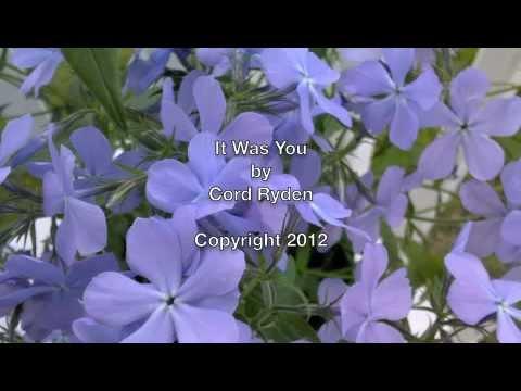 It Was You - Cord Ryden (Original)