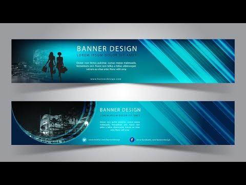 Illustrator Tutorial | Web Banner Design (Shopping)