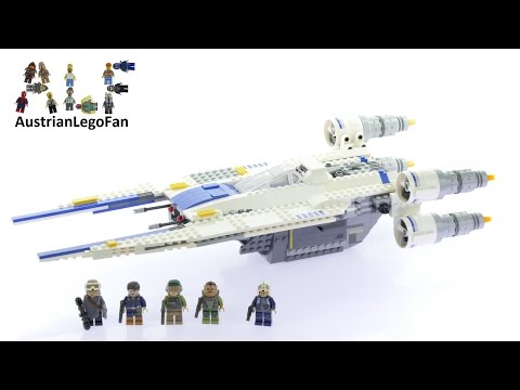 Vidéo LEGO Star Wars 75155 : Rebel U-wing Fighter