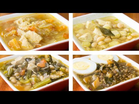 4 Healthy Soup Recipes For Weight Loss | Easy Soup Recipes