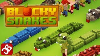 Blocky Snakes (By RebelApes) - iOS/Android - Gameplay Video