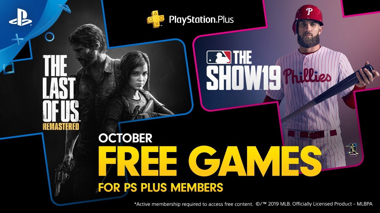 PlayStation Plus Free Games for October: The Last of Us Remastered, MLB The Show 19