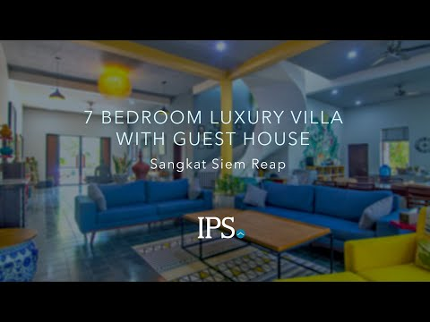 7 Bedroom Luxury Villa with Guest Apartments For Sale - Sangkat Siem Reap, Siem Reap thumbnail