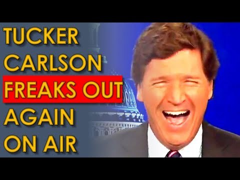 Tucker Carlson SNAPS AGAIN live on air after Ted Lieu Roasts him
