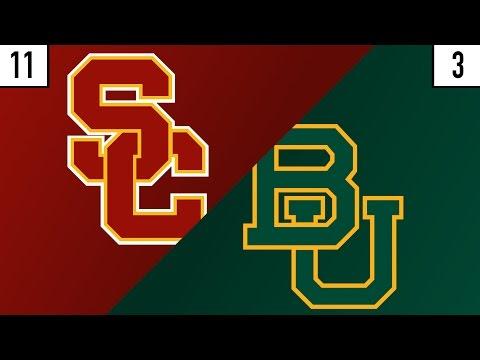 11 USC vs. 3 Baylor Prediction | Who's Got Next?