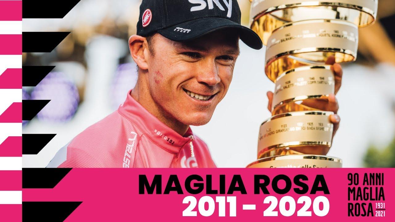 90Anni Maglia Rosa: 2011 – 2020
