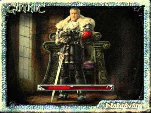 Gothic anb Jirkův Gameplay(20) první část - procházka růžovým sadem