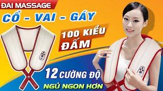 Video máy massage đấm bóp cổ vai gáy 100 kiểu đấm Ming Zhen MZ-666