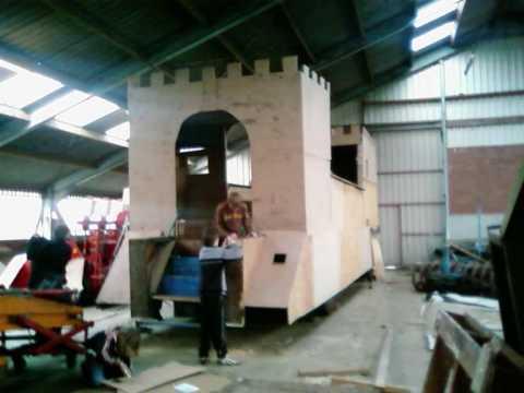 vg schei-uut carnavalswagen 2009 wanroij