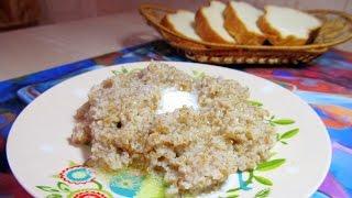 Пшеничная каша на воде 💖 Каша на завтрак. Полезно и вкусно