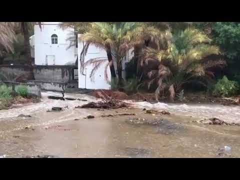 Video: Rain in parts of Oman, several wadis overflow