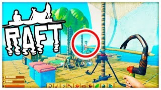 SOMEONE INVADED OUR RAFT!! - RAFT SURVIVAL w/ Tewtiy #4