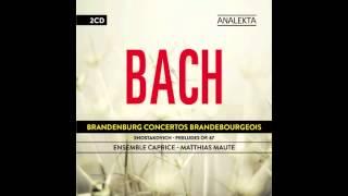 Johann Sebastian Bach - Brandenburg Concerto No. 3  Allegro - Ensemble Caprice