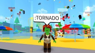 How To Get Admin Commands On Roblox Life In Paradise 2 For Free Using Admin Commands To Cause A Tornado In Roblox Minecraftvideos Tv