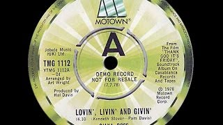 Diana Ross ~ Lovin' Livin' & Givin' 1978 Disco Purrfection Version