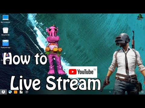 How to Live Stream In Phoenix OS , PUBG Mobile and Other