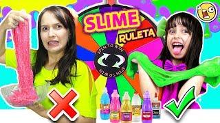 Ruleta Misteriosa de SLIME con Adri | Mystery Wheel Slime Challenge