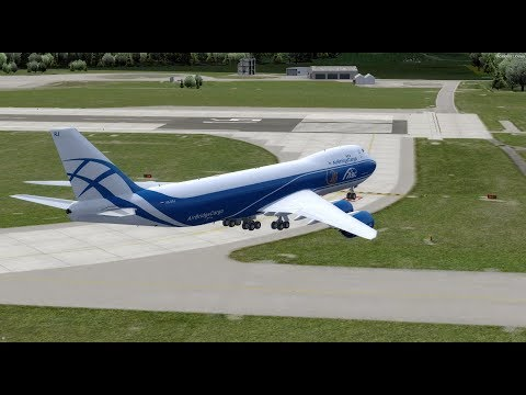 FSX PMDG 747-8 - игровое видео смотреть онлайн на igrovoetv