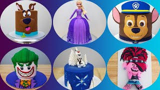 Kids Cartoon Characters Made Into Cakes