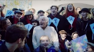 Dick Van Dyke Sings 'Mary Poppins' After Fan Flash Mob for 90th Birthday