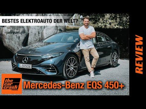 Mercedes Benz EQS 450+ (2021) Das beste Elektroauto der Welt? 🐐 Fahrbericht   Review   Test   780 km