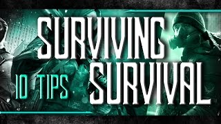 10 TIPS to SURVIVE - Guide To SURVIVAL DLC - The Division