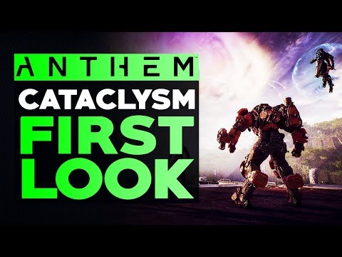 Anthem Cataclysm PTS First Look - Taking a look at The New Content & Items