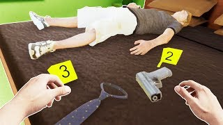 Becoming a Police Crime Scene Investigator in VR - CSI VR Gameplay